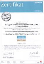 Miniatur_Zertifikat_AssaAbloy2014